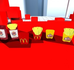 Fast Foods Fries Props! For Garry's Mod Image 2