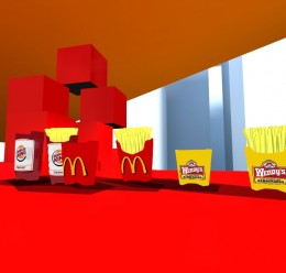 Fast Foods Fries Props! For Garry's Mod Image 3