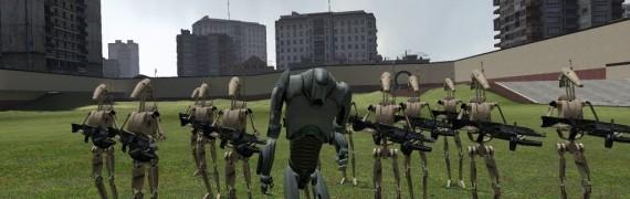 Battle droid NPC Replacement