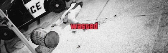 GTA5 Death(Wasted) Replacement