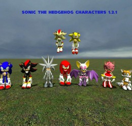 Sonic The Hedgehog Characters For Garry's Mod Image 1