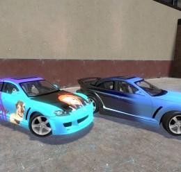 TDM Gt500 & Rx8 skins For Garry's Mod Image 2