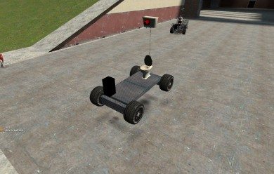 E2 Toilet Car For Garry's Mod Image 1