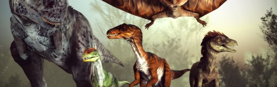 Primal Carnage Dinosaurs V2