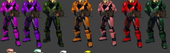 Halo 1 Spartans