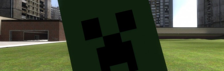 Minecraft Creeper Hat Model For Garry's Mod Image 1