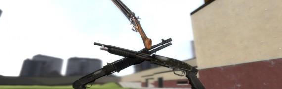 Stalker Shotgun Models (SoC)