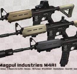 magpul_m4a1_release_pack.zip For Garry's Mod Image 1