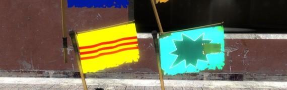 TF2 Vietnam War Flags
