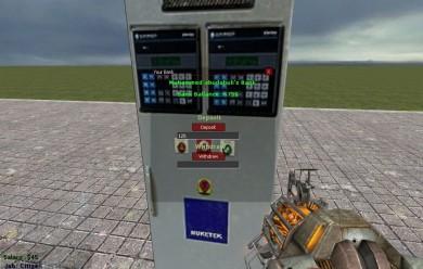 DarkRP Bank System v1.0 (OLD) For Garry's Mod Image 1