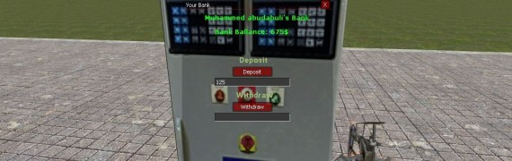 DarkRP Bank System v1.0 (OLD)