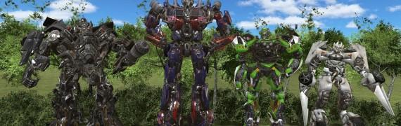 Transformers 3 Ragdoll pack