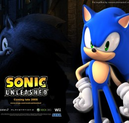 Unleashed Sonic Playermodel NP For Garry's Mod Image 1