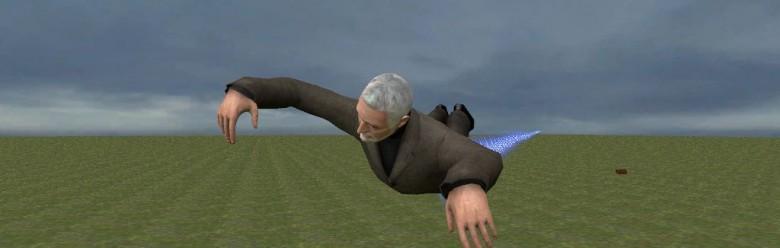 Flying Breen.zip For Garry's Mod Image 1