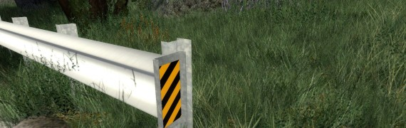 Road Guard Rail Props