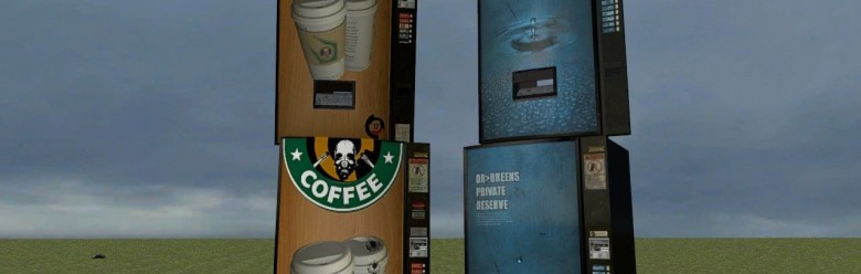 HL2 coffee vending machine ski For Garry's Mod Image 1