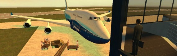 Boeing 747 (texture fix)
