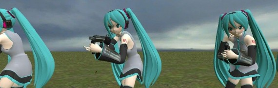 Hatsune Miku Player Model