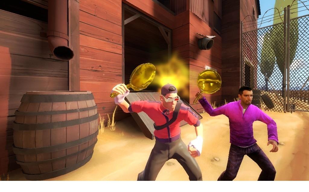 How To Get Gold Pan Tf2 Mods