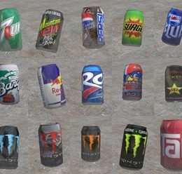 realistic_cans.zip For Garry's Mod Image 1