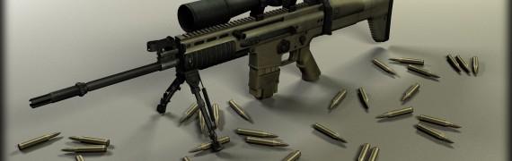 MK17 Mod 0. SV (SCAR-H Sniper)