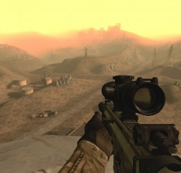 MK17 Mod 0. SV (SCAR-H Sniper) For Garry's Mod Image 2