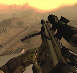 MK17 Mod 0. SV (SCAR-H Sniper) For Garry's Mod Image 3