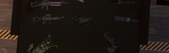 Fraghouse Invasion V5 Weapons