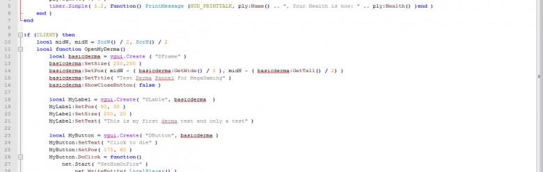 Simple VGUI Menu For Garry's Mod Image 1