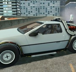 DeLorean wired and working For Garry's Mod Image 1