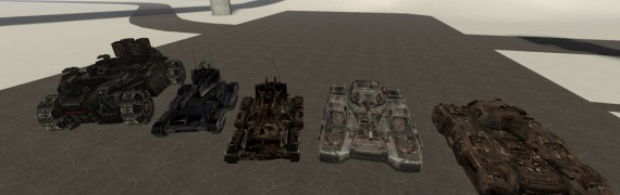UT2004 Vehicles+ECE ones