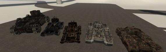 UT2004 Vehicles+ECE ones