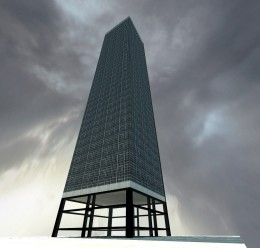 (Beta) Big Tower with Office For Garry's Mod Image 1