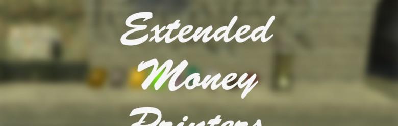Extended Money Printers V1 For Garry's Mod Image 1