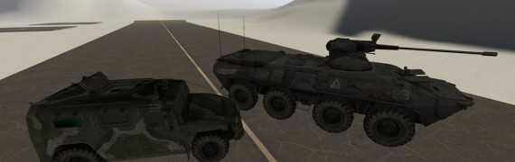Ballistic Vehicles Small Pack