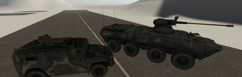 Ballistic Vehicles Small Pack For Garry's Mod Image 1