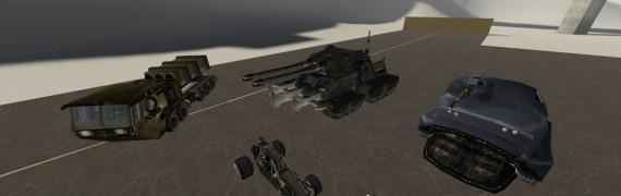 Annihilation Arsenal Vehicles