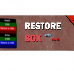 V2.2 RestoreBox (Armor/Health) For Garry's Mod Image 1