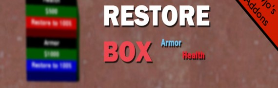 V2.2 RestoreBox (Armor/Health)