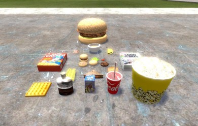 food_final_pack.zip For Garry's Mod Image 1