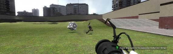 Portal Cube Launcher