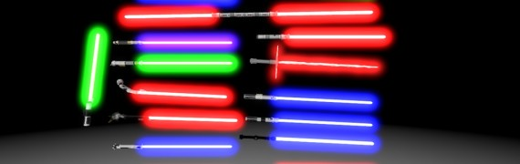 Star Wars Enhanced Lightsabers