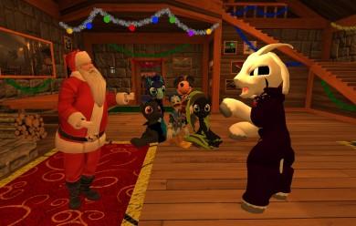 Santas claus + Asriel dreemur  For Garry's Mod Image 1