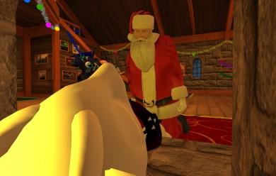 Santas claus + Asriel dreemur  For Garry's Mod Image 2