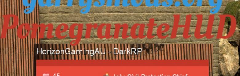 PomegranateHUD For Garry's Mod Image 1