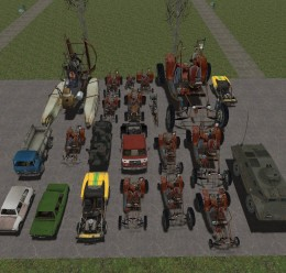 Big Vehicle Pack For Garry's Mod Image 2