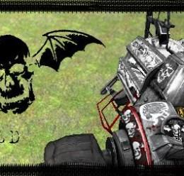 Avenged Sevenfold PhysGun Skin For Garry's Mod Image 1
