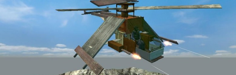 falk_wodden_helicopter.zip For Garry's Mod Image 1