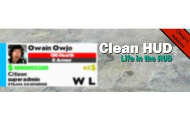 V1.2 Clean HUD (In the HUD) For Garry's Mod Image 1