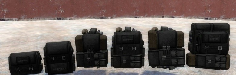 FO3 Custom Backpacks For Garry's Mod Image 1